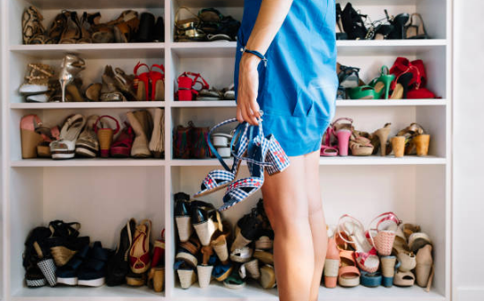dressing chaussures femme